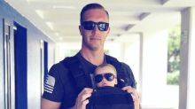 Is it Just Us, or Are 21 These Dads Wearing Babies the Hottest Things Since Man Discovered Fire?