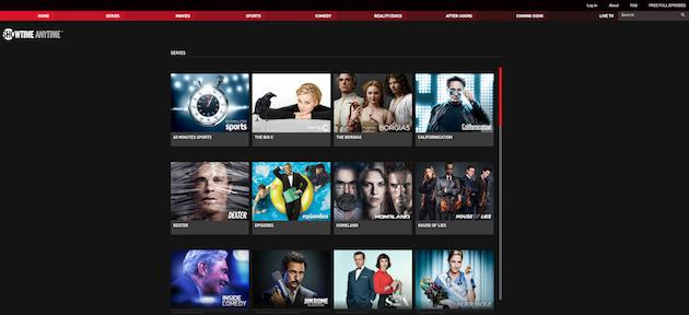Showtime Anytime is finally available for Time Warner Cable customers
