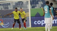 Choreographed move gives Colombia 1-0 win at Copa America