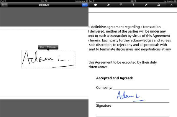Adobe Mobile Reader 10.2 adds signature, form support