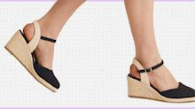 The £22.50 M&S wedge espadrilles we're adding to our basket for summer