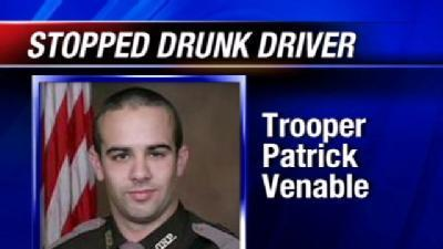 Trooper Saves Construction Crew From Drunken Driver