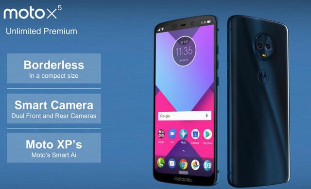 Motorola's 2018 lineup may include an iPhone X lookalike