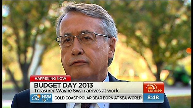 Wayne Swan arrives at Parliament House
