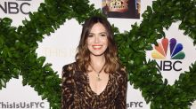 Mandy Moore Perfects the Art of All-Over Animal Print in Her Stella McCartney Jumpsuit