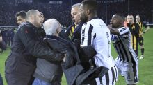 PAOK president Ivan Savvidis 'very sorry' for invading pitch with a gun