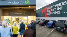 Woolworths and Bunnings staff test positive for coronavirus