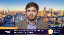 Facebook pay £28M UK tax on revenues of £1.6BN