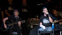 Rock Legend Roger Waters Teams Up With Wounded Veterans