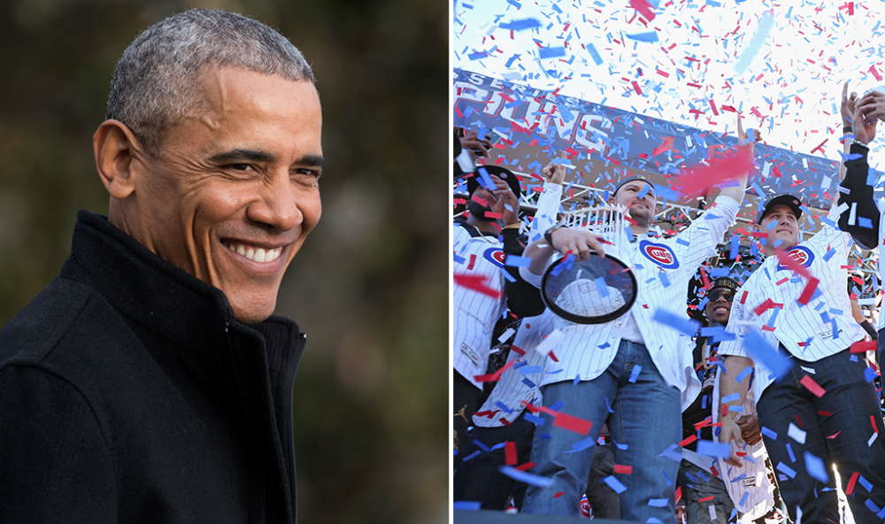 The Cubs are taking an early trip to go see the president. (Getty Images)