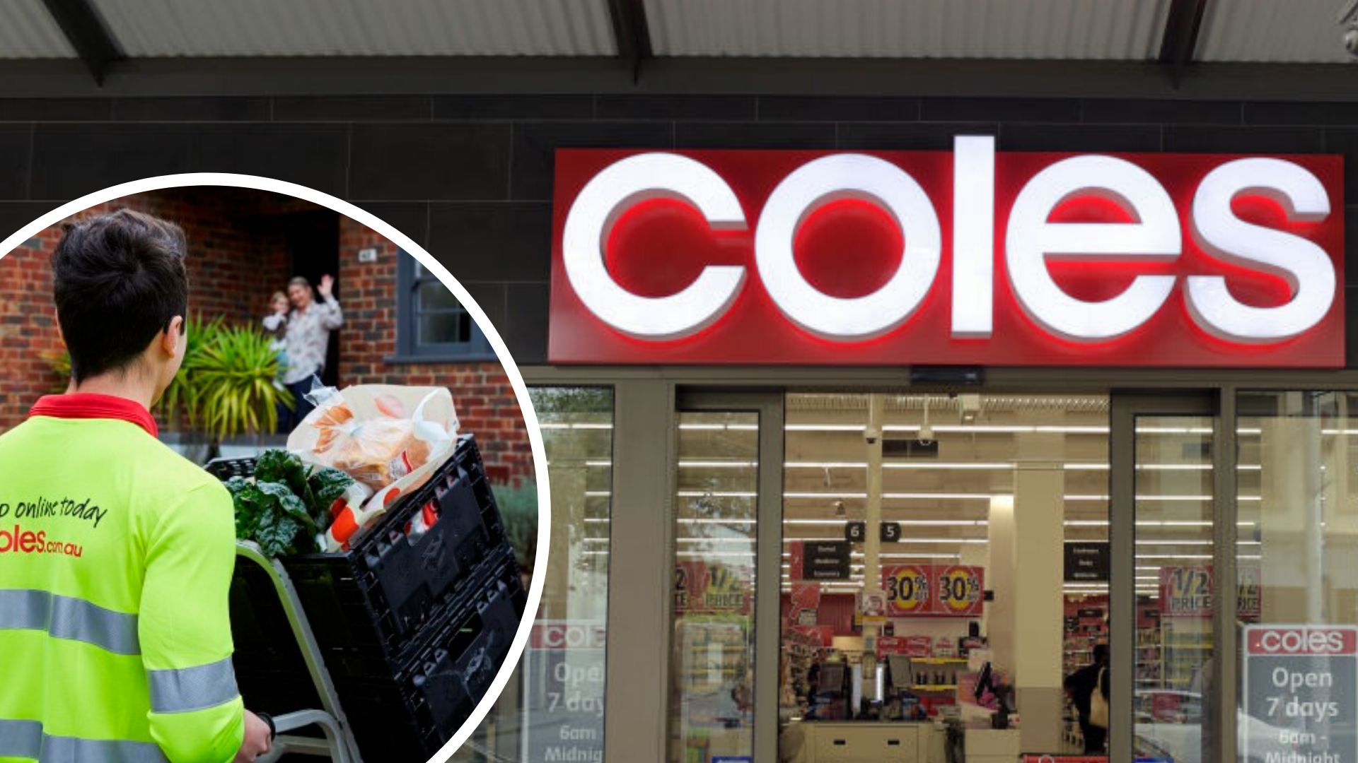Coles Strikes Back At Amazon With Delivery Service