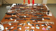 Police seize 53 firearms, more than 8kg of drugs from rural N.B. home