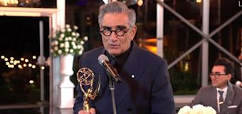 Eugene Levy Says Schitt's Creek Emmys Party Had to Downsize Suddenly due to Toronto COVID Spike