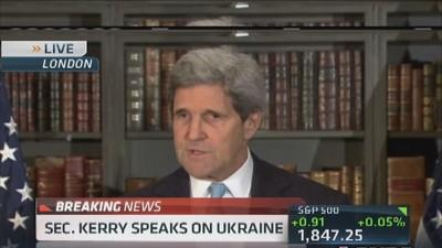 Sec. Kerry: Crimea referendum illegitimate