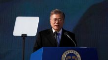 South Korea's Moon says three-way summit with North Korea, U.S. possible