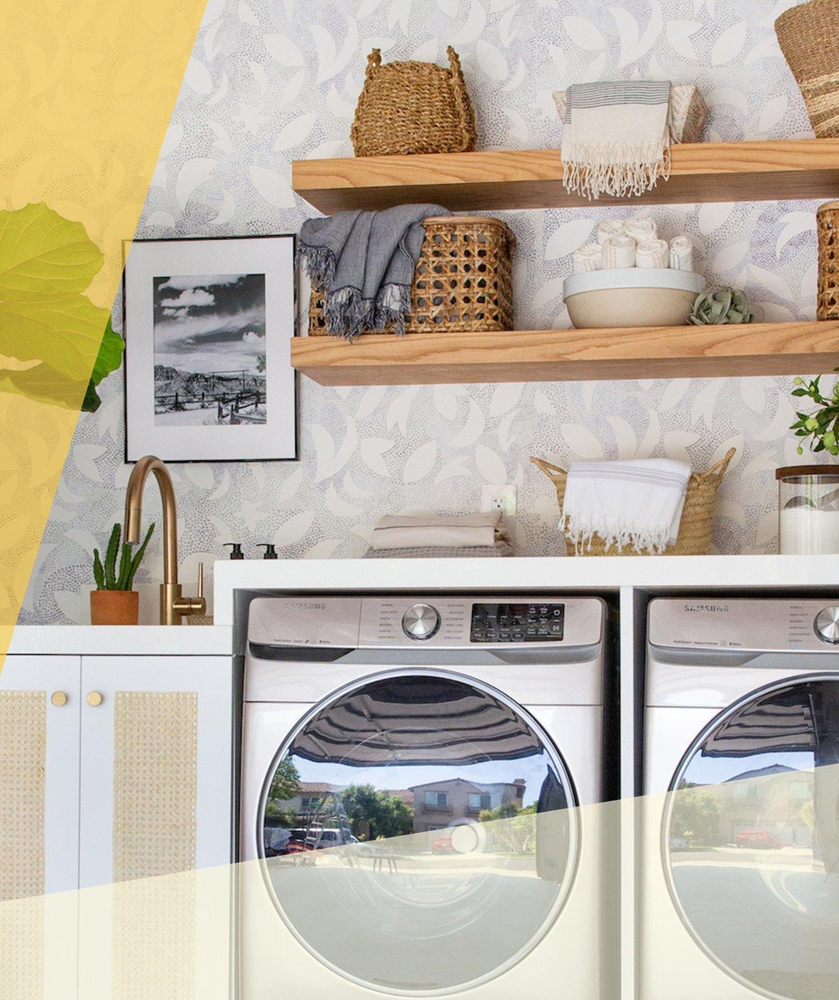 25 Design Ideas to Steal From a Gorgeous Garage-Turned-Laundry Room