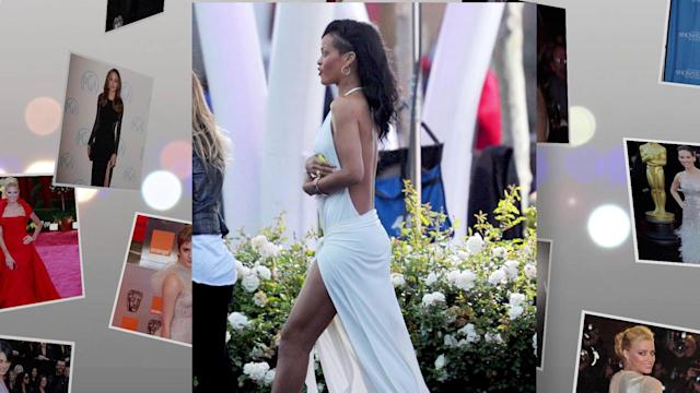 The Stars Get Sexy in Split Dresses