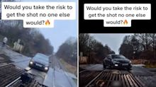 'Sheer stupidity': TikTok video slammed over 'dangerous' Volkswagen stunt