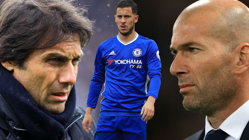 Chelsea superstar Eden Hazard is wanted by Real Madrid