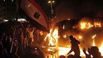 Riots rage across Egypt as Morsi declares state of emergency