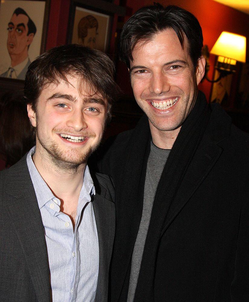 Daniel Radcliffe and Lorenzo Pisoni