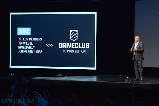 Sony announces PS Plus edition of Driveclub will be free for a year