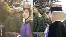【有片】呢啲就係專業!網民讚好靚 日本迪士尼「女王」演員超高傲回應