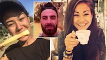 The chilling moments before 'frenzied' stabbing killed backpackers