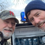 'Magic fridge' full of cold beer found in flooded Nebraska field
