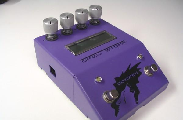 OpenStomp Coyote-1 open-source guitar pedal now shipping