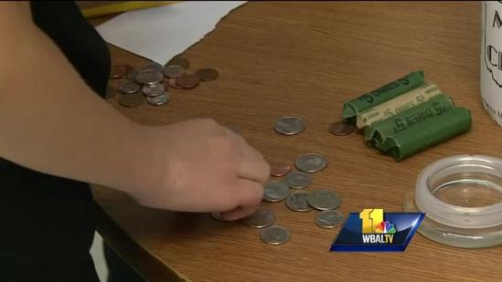 Young students raising money for Moore