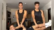 These identical triplet brothers are TikTok's favorite fitness gurus