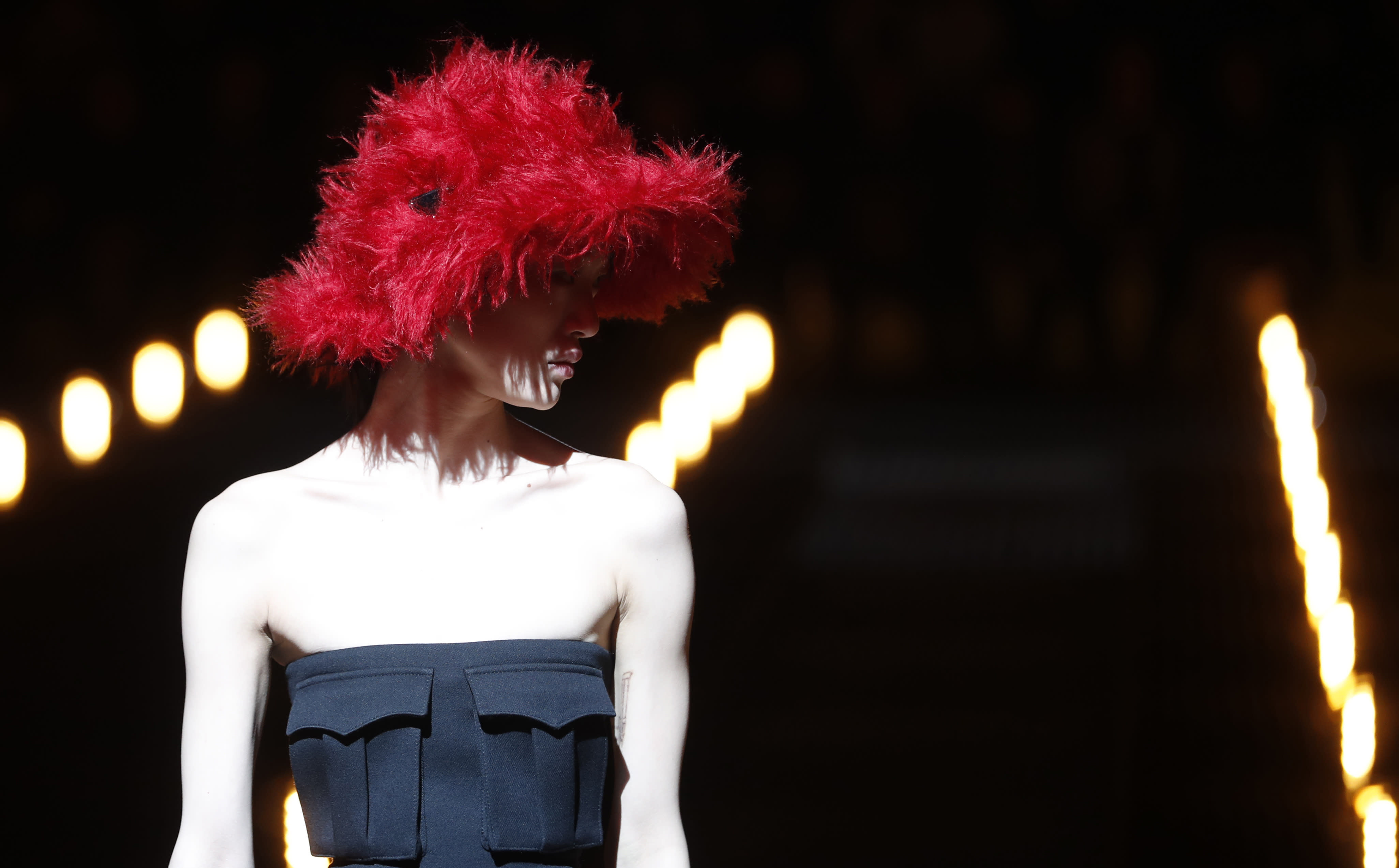 Prada eyes strong military silhouette, with whimsy