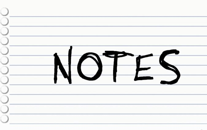 Switch Notes app