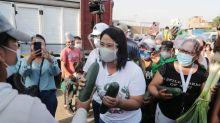Peru election race tightens as Fujimori gains, poll shows