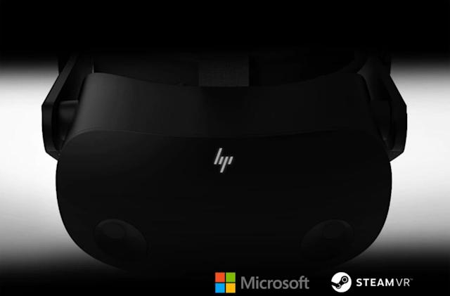 HP teases 'next gen' VR headset made with Microsoft and Valve's help