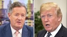 Piers Morgan lashes out at Britain for 'alienating' Donald Trump