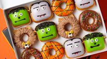 Krispy Kreme Has A Whole Mess Of New Halloween Doughnuts That Look Like All Your Favorite Monsters