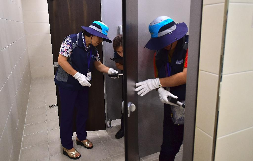 The main focus of Seoul's 'hidden camera-hunting' squad nowdays is on tackling various kinds of sexual harassment, including 'molka' crimes (AFP Photo/Jung Yeon-Je)