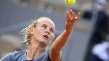 Roland-Garros (F) - Roland-Garros (F): Fiona Ferro, en toute discrétion