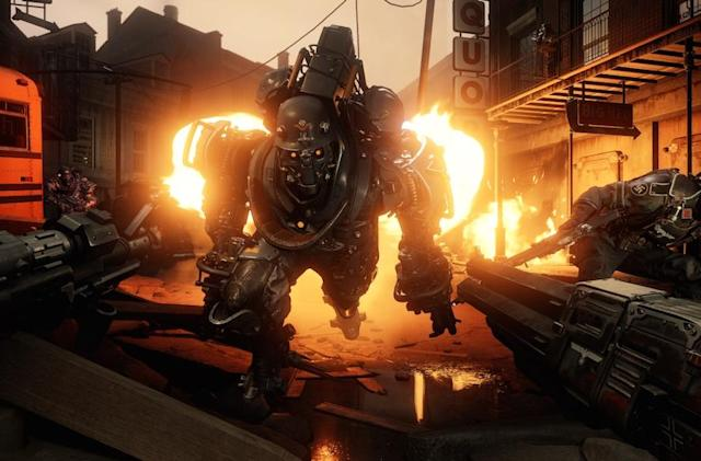 'Wolfenstein II' starts with a wheelchair, Nazis and a machine gun