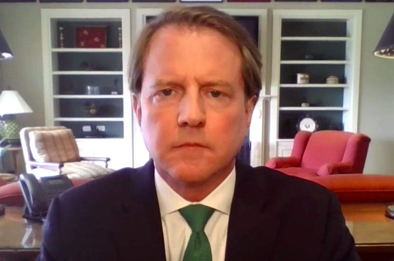 "McGahn says there was no ""hesitancy"" about nominating Barrett in 2018"