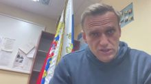 Jailed Kremlin critic Navalny, on protest eve, says has no plans to commit suicide