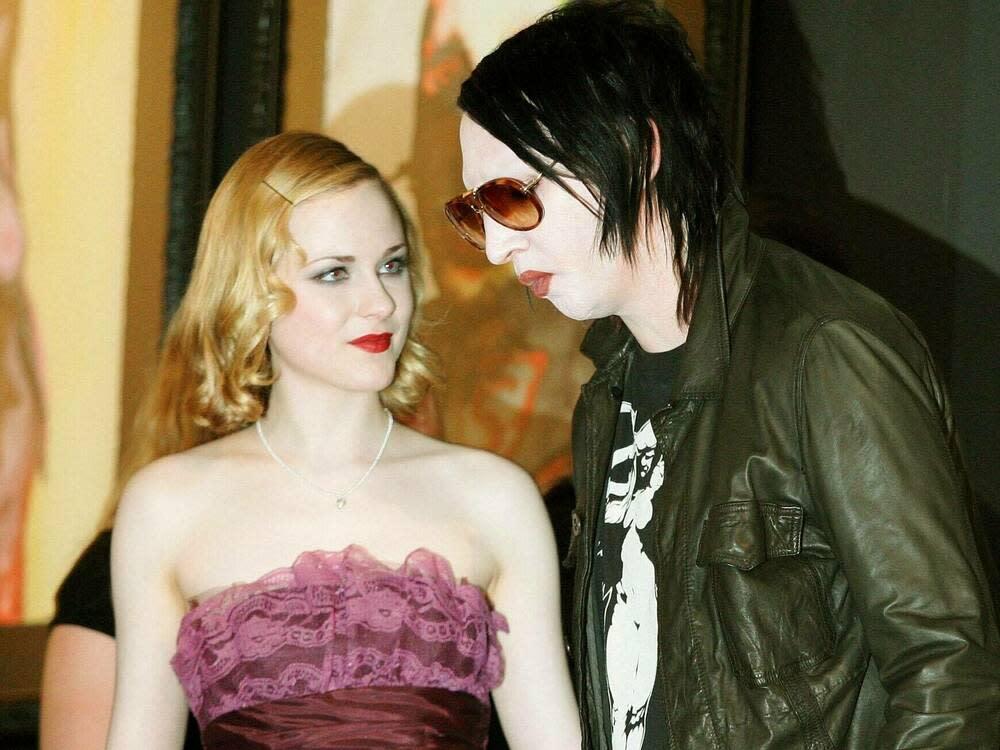 Evan Rachel Woods Ex-Freund Marilyn Manson soll sie missbraucht haben