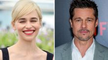 GoT star Emilia Clarke describes 'weird' Brad Pitt experience