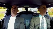 Jerry Seinfeld Takes President Obama for a Ride in'Comedians in Cars'