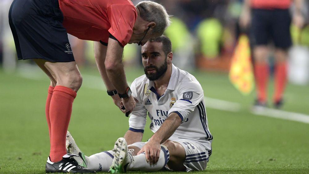 Real Madrid: Dani Carvajal fällt verletzt aus
