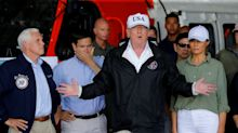 Trump touches down in Florida to survey Hurricane Irma damage