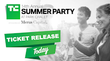 Final ticket release to the 14th Annual TechCrunch Summer Party