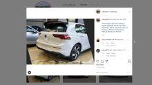 Novo Volkswagen Golf GTI aparece antes da hora nas redes sociais